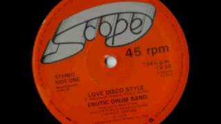 Erotic Drum Band - Love Disco Style