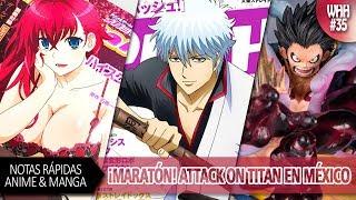 Attack on Titan 3 en Cinépolis, Gintama Nuevo Capítulo, Luffy y su Gear 4,  Violet Evergarden...