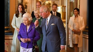 Royal Family gathers to celebrate 50 years since the Prince of Wales's investiture