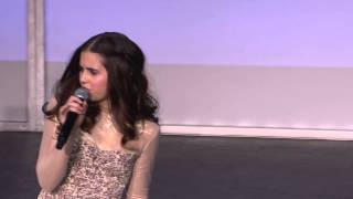 "Carly Rose Sonenclar performs ""Feeling Good"" at Gannett Front 2013"