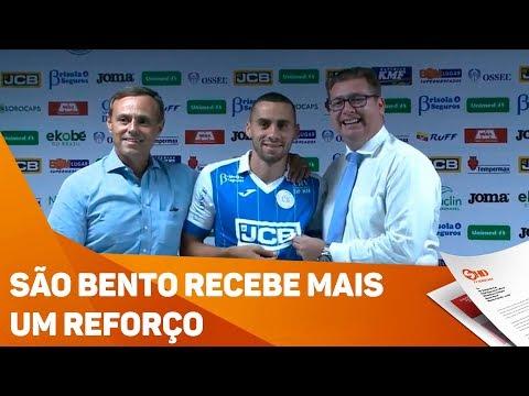 São Bento recebe mais um reforço - TV SOROCABA/SBT