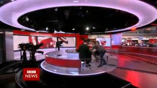 BBC News Channel: 12pm: TOTH Blooper 11/04/15
