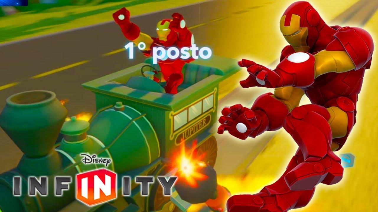 Iron man macchine da corsa video giochi di cartoni animati for Giochi di macchine da corsa