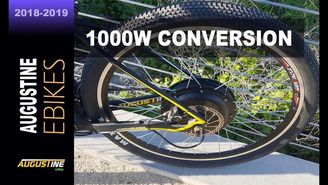 E Bike Review Powerful 48v 1000w Rear Hub Motor Youtube