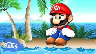 SMG4: Mario Gets Stuck On An Island