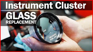 Instrument Cluster Glass Replacement