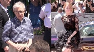 Woody Allen, Emma Stone and the cast of Irrational Man in Cannes