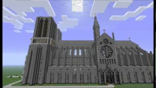 Minecraft Cathedral - Notre Dame