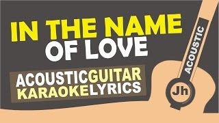 Martin Garrix Bebe Rexha In The Name Of Love Karaoke Acoustic.mp3