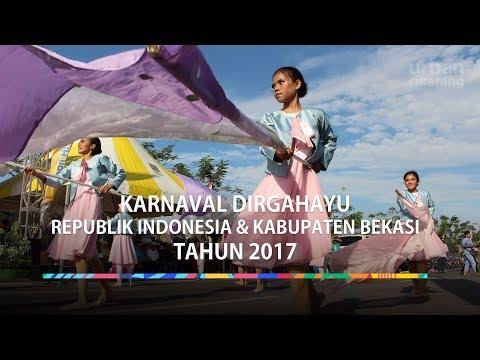 Karnaval Dirgahayu Republik Indonesia dan Kabupaten Bekasi Tahun 2017