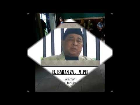 DR H  BABAN ZA M Ph Pengobatan  alternatif  Tasikmalaya