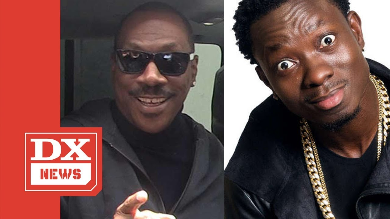 "Michael Blackson Geeked Over Eddie Murphy Considering Him For ""Coming To America 2"""