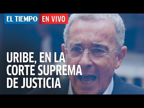 La indagatoria de Álvaro Uribe en la Corte Suprema de Justicia
