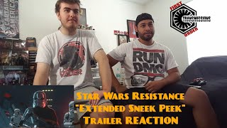 "Star Wars Resistance ""Extended Sneak Peak"" Trailer Reaction!"