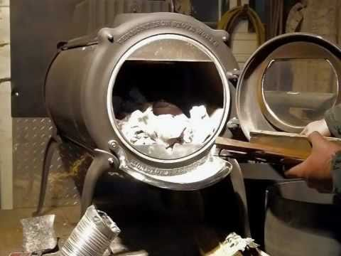 - Starting A Fire In An Elm Stove.mov - YouTube