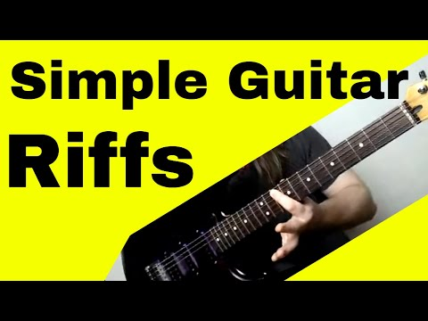 Super Simple Guitar Riffs for Beginners
