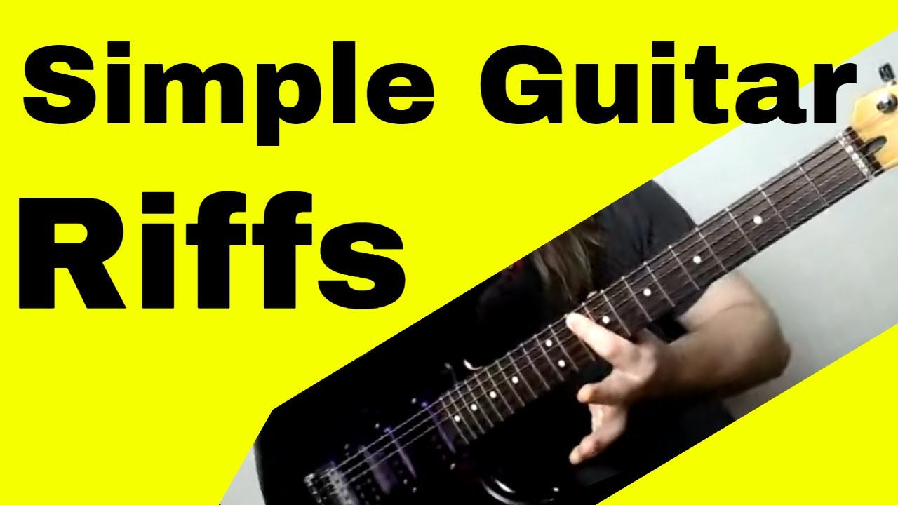 easiest songs to play on electric guitar for beginners youtube. Black Bedroom Furniture Sets. Home Design Ideas