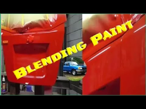 How to Blend Automotive Paint to Match Existing Color