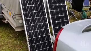 Первый опыт использования солнечных батарей на природе для питания холодильника(, 2016-08-30T20:50:25.000Z)