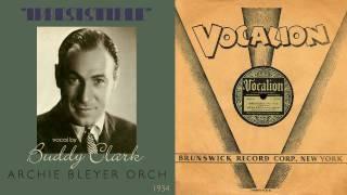 1934, Irresistible, Buddy Clark, Archie Bleyer Orch. Hi Def, 78RPM