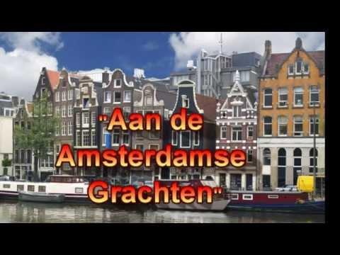 Aan de Amsterdamse grachten - door Wim