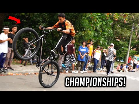 COLLECTIVE BIKES - COLOMBIAN WHEELIE CHAMPIONSHIPS!