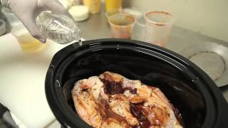 How To Cook Chicken Carne Adovada In A Crock-pot : Mexican Recipes