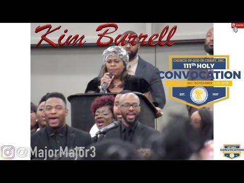 Kim Burrell  - Singing at Revival Fire