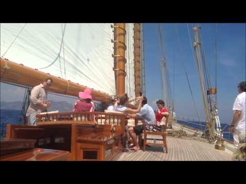 Sailing on Elena