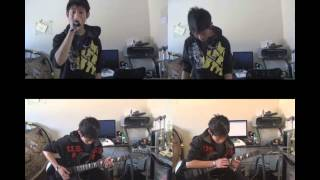 Adele - Set Fire To The Rain (Screamo/Dual Guitar Cover) w/ Download Link