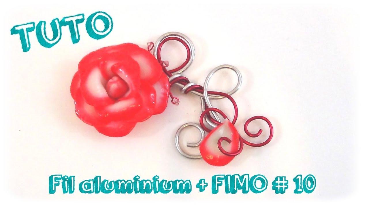 Tuto bijoux fil aluminium et fimo 10 youtube - Tuto bijoux pate fimo et fil aluminium ...