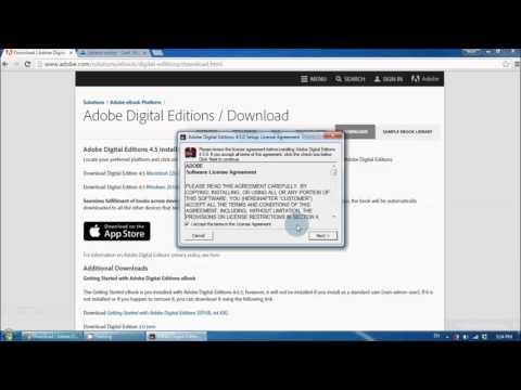 Tutorial Instalare Adobe Digital Editions