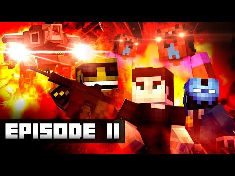WAR OF THE SERVERS - Episode II (Minecraft Movie)