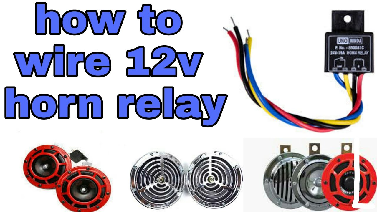 Simplest Way Wiring 12v Horn Relay For All Scooters And Bikes Mr In Automobiler