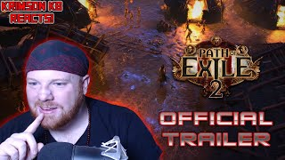Krimson KB Reacts - Path of Exile 2 Official Trailer