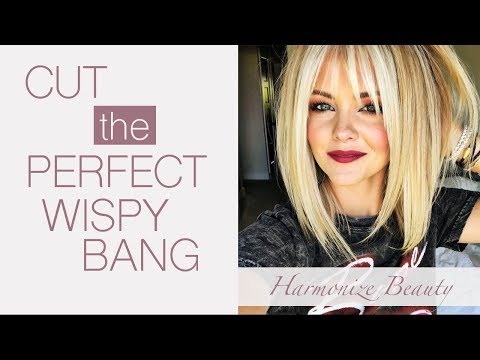 How to get the perfect wispy bangs - Harmonize_Beauty