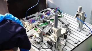 Роботизированная сортировочная линия