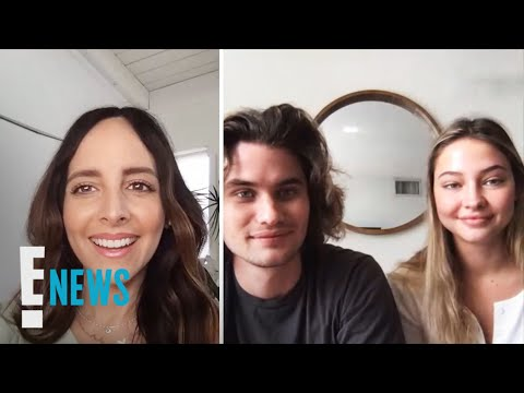"""""""Outer Banks"""" Stars Chase Stokes & Maddie Cline Explain Why It's Binge-Worthy   E! News"""
