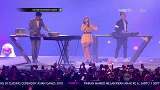 Momen Kemeriahan Closing Ceremony Asian Games 2018