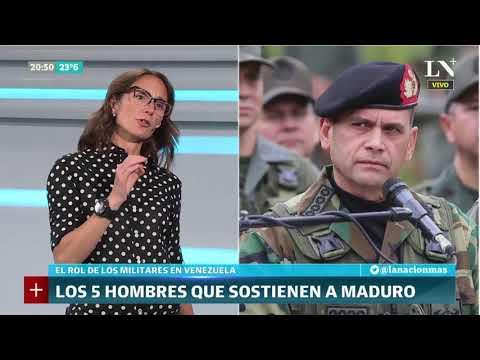 Inés Capdevila: Las cinco figuras militares que sostienen a Nicolás Maduro - LN+