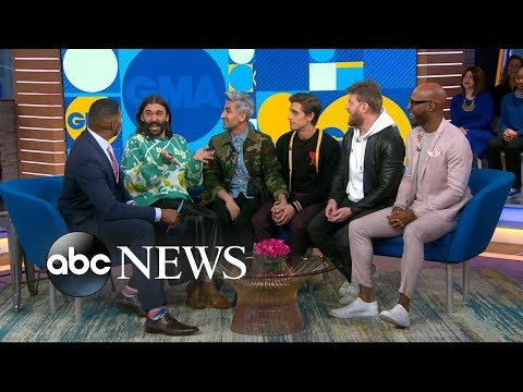 'Queer Eye' stars' incredible surprise reunion with fan favorite Mama Tammye | GMA