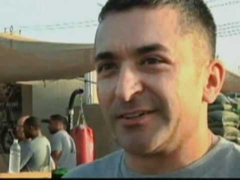 Iron Soldier competition in Iraq