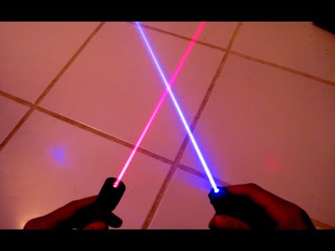 Blue Lasers vs. Red Lasers: Which are Better?