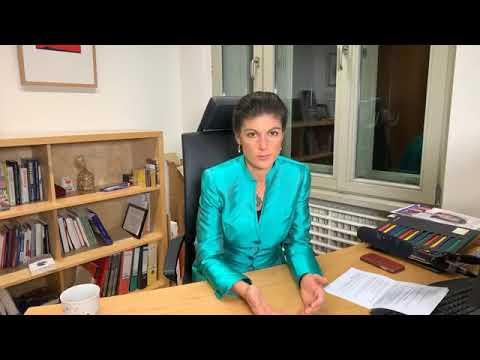 Sahra Wagenknecht im Livechat - Fragen zu #Aufstehen u.a. 28.11.2018