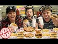 EATING ENTIRE IN N OUT SECRET MENU ITEMS !! (NEVER BEFORE RELEASED BURGERS)