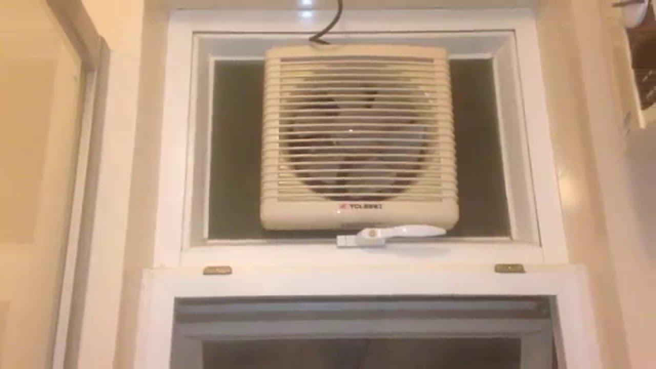 window bathroom exhaust fan