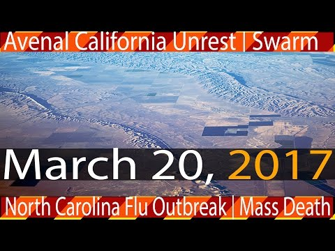 Earthquake Report | 03-20-2017 | California Fault Threat | Disaster Report - NC Deadly Flu Outbreak