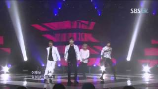 MBLAQ - Again (MBLAQ - Again) sbs Popular song 20110313