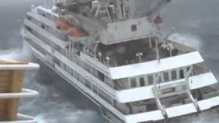Clelia II Cruise Ship in Distress in Antarctica