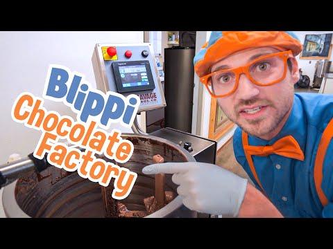 Blippi Visits Chocolate